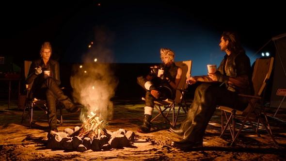 Final Fantasy XV cooking