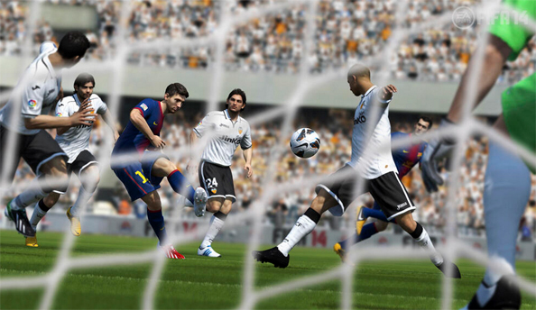FIFA 14 exists, will feature new ball physics and more intelligent shooting
