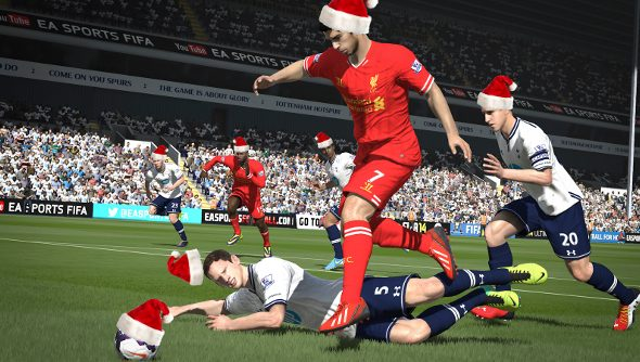 FIFA 14 top of the UK Christmas charts