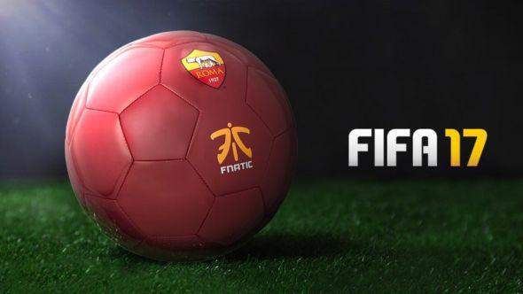 FIFA 17 Fnatic AS Roma partnership