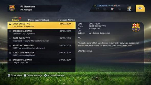 Suarez: away in FIFA 15