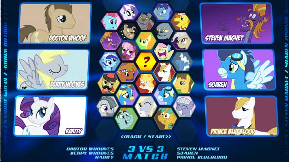 MLP: Fighting is Magic pulled from Evo 2013 headliner draw