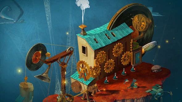 Explore the world of dreams in musical puzzle-adventure Figment, new on Steam