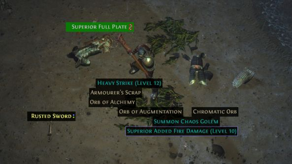 Path of Exile is getting item filters, and that's a very good thing indeed