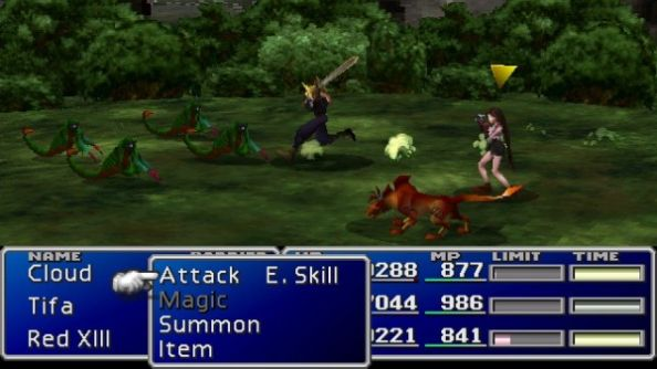 Final Fantasy VII: the best FF, according to a small and constantly contested majority.