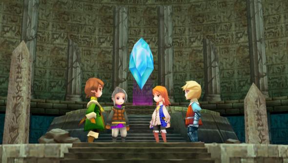 Final Fantasy III Square Enix