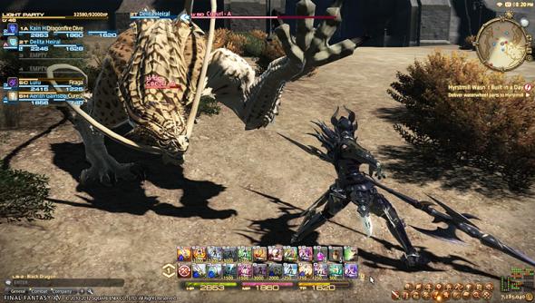 final fantasy a realm reborn ddos attack square enix