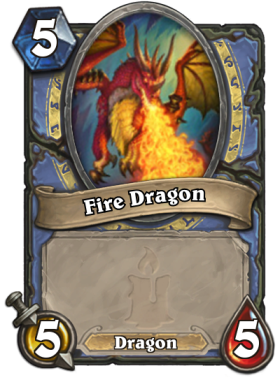 Fire Dragon token