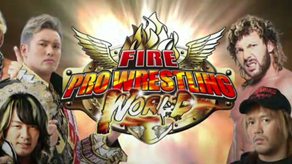 fire pro wrestling world njpw story mode