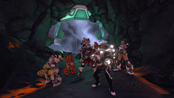 Red 5 are aiming for a larger server population than this come Firefall launch.