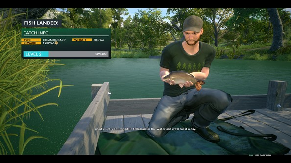 15 pro tips from an absolutely terrible dovetail games for Fishing games for ps4