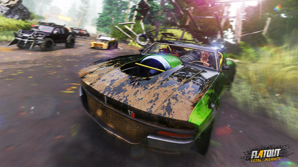 Win a key for FlatOut 4: Total Insanity! High-speed destruction, carnage, collisions... oh yeah, and racing