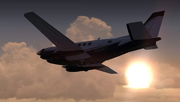 Microsoft Flight Simulator X: plane sailing from now on.