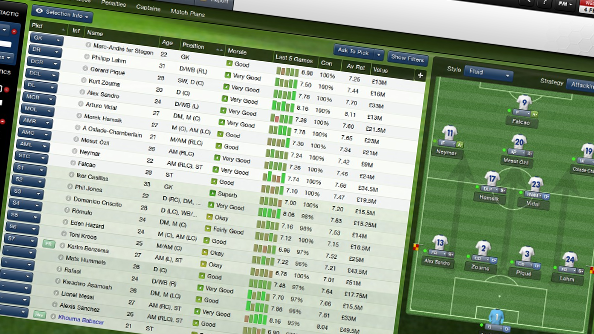 Football Manager 2013 January Transfer Update now live