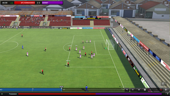 Football Manager 2013 Classic Mode was originally a standalone console game