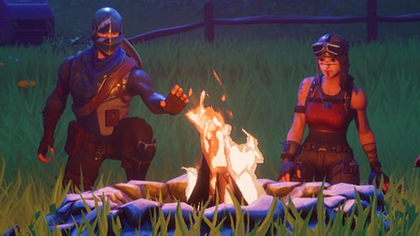 fortnite 240 minigun cozy campfire downtime apology