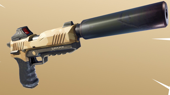 fortnite battle royale silenced pistol
