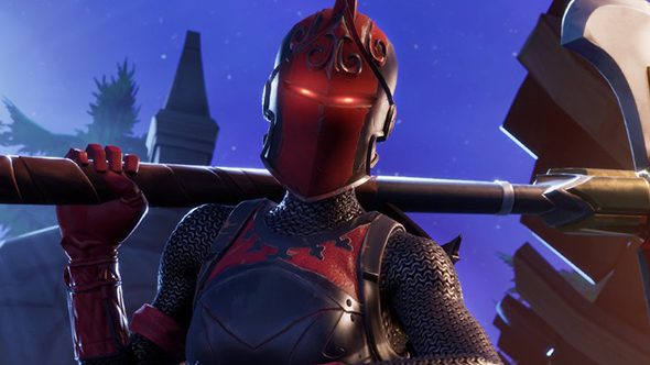 Fortnite S Red Knight Skin Returns To The Item Shop Tomorrow Pcgamesn