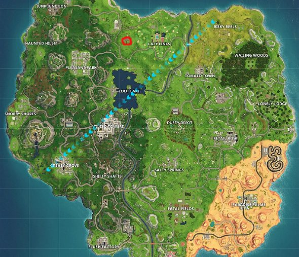 fortnite road trip week 1