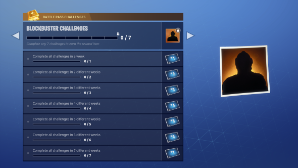 fortnite season 4 challenges blockbuster