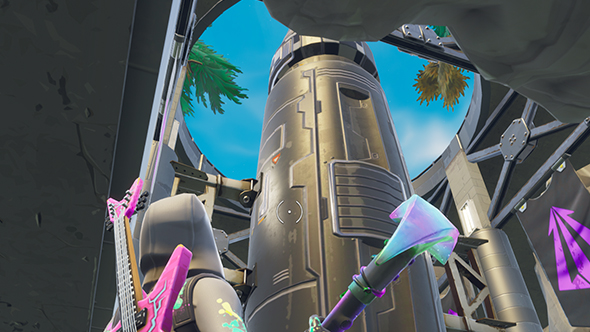 fortnite season 4 superhero lair missile silo