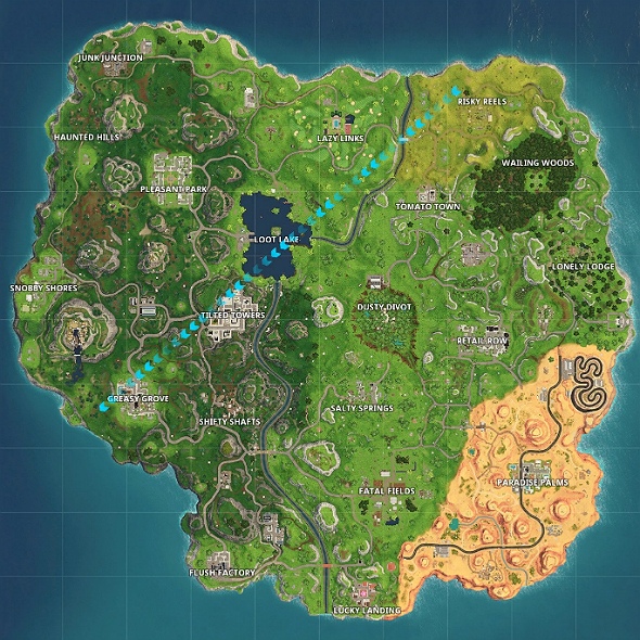 fortnite season 5 release date map