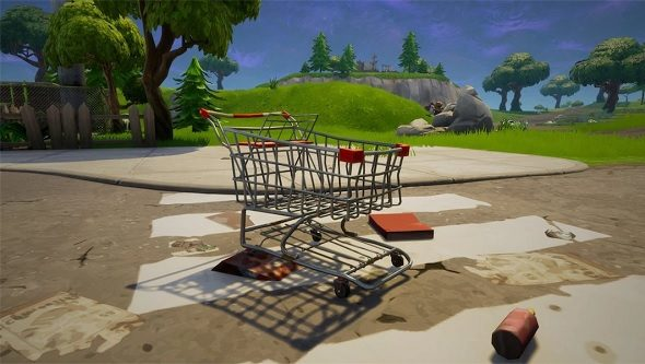 Fortnite Shopping Cart
