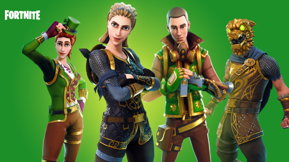 One of Fortnite's new premium skins may have a bug that