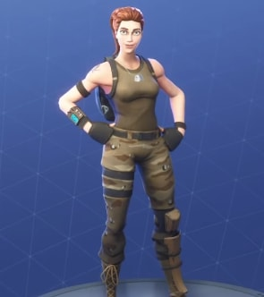 fortnite skins tower recon specialist