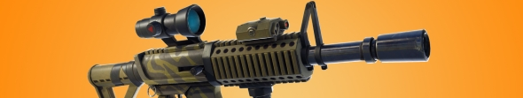 fortnite update thermal scope assault rifle