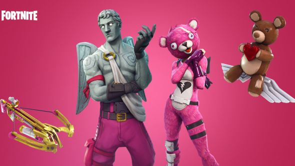 Fortnite Valentines update
