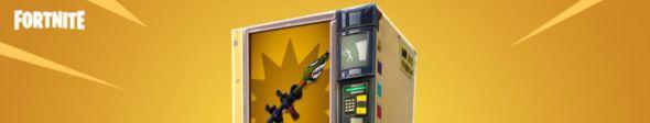 Fortnite update vending machines