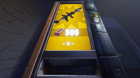 fortnite vending machines high explosives v2