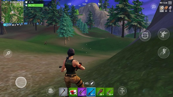fortnite ios that said the layout of the interface works well and despite some subtle repositioning everything feels intuitive a backpack icon has also - fortnite com ios