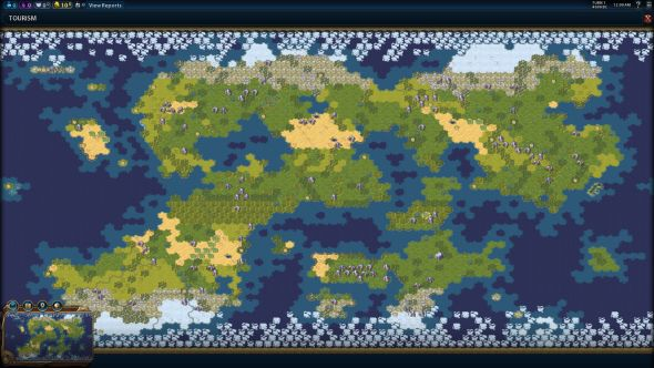 Fractal map type