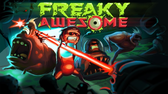 Creepy-cool co-op mutant roguelite Freaky Awesome gets an October 18th release date