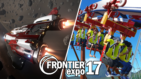 elite dangerous fan event frontier expo 2017 planet coaster