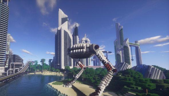 minecraft maps future city