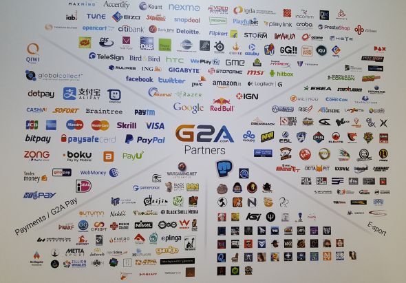 G2A's professional relationships