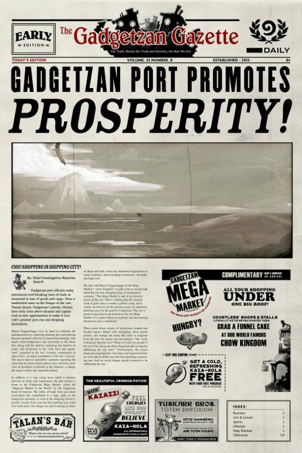 Gadgetzan Gazette