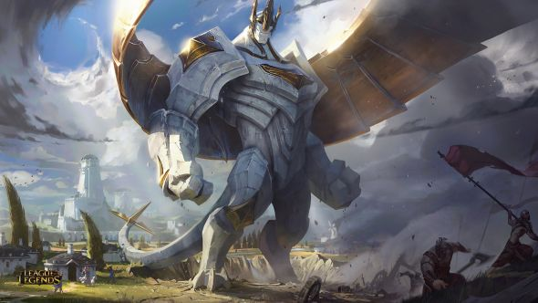 Galio Rework Splash Art