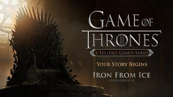 Game of Thrones: Iron From Ice coming soon