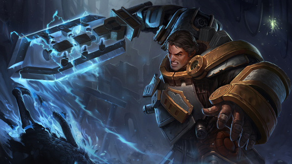 Riot focus their Champion Spotlight on Garen, the Might of Demacia