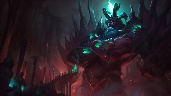 Gatekeeper Galio Splash Art