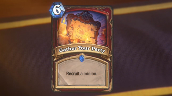 hearthstone kobolds and catacombs gather your party