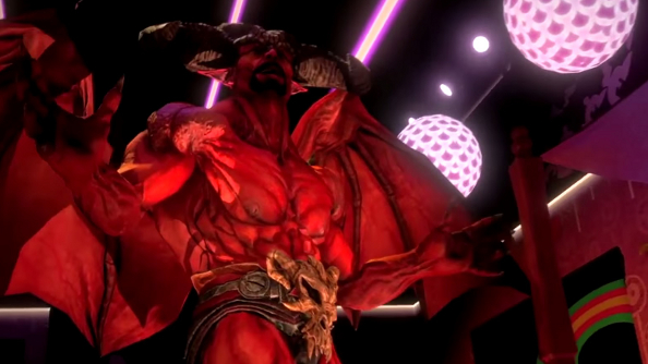 Saints Row: Gat out of Hell's cast work out their problems through the power of song
