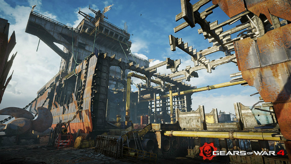 First Gears of War 4 DLC multiplayer maps arriving with weapons balance patch