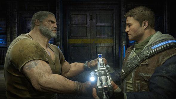 Gears of War 4 character
