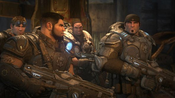 Gears of War dudes