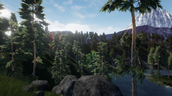 Making it in Unreal: begin life anew on a harsh, post-Minecraft planet in Genesis